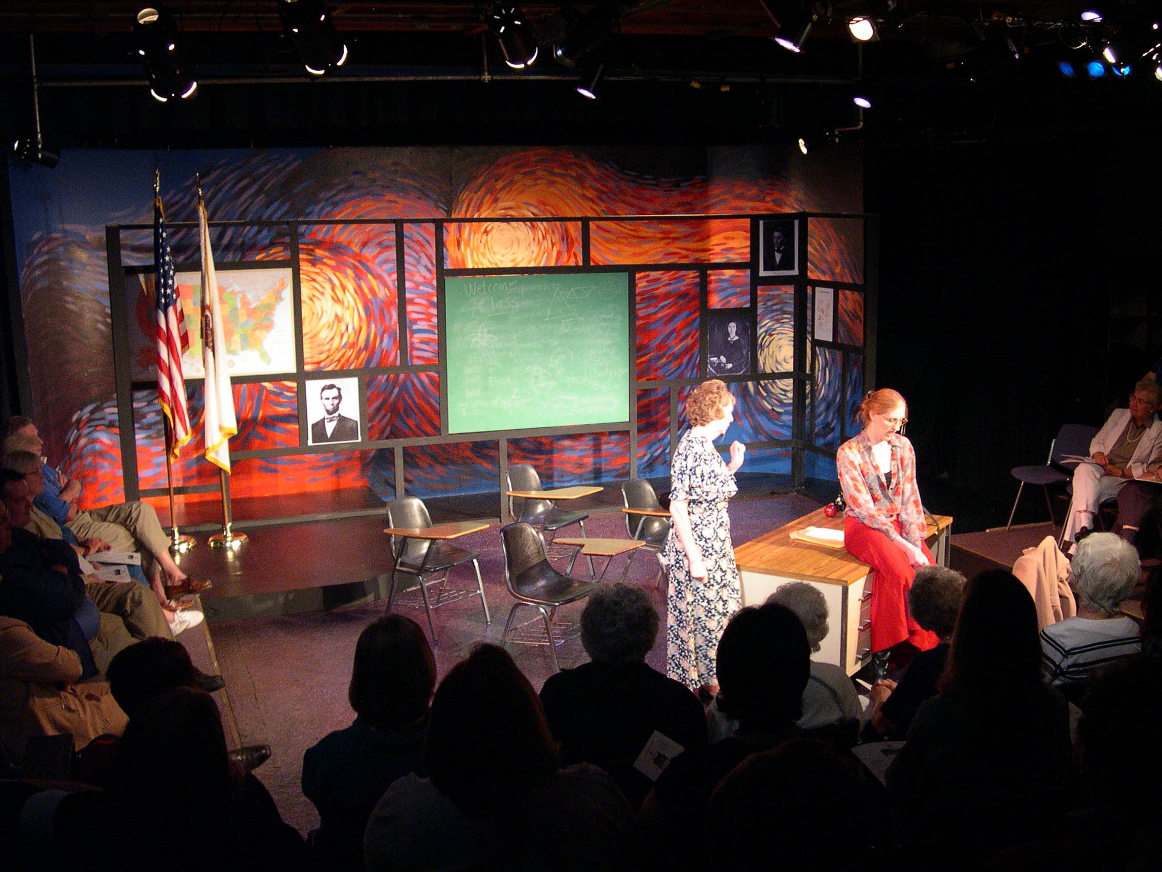 "2004 10-Minute Play Festival: ""The Classroom"""